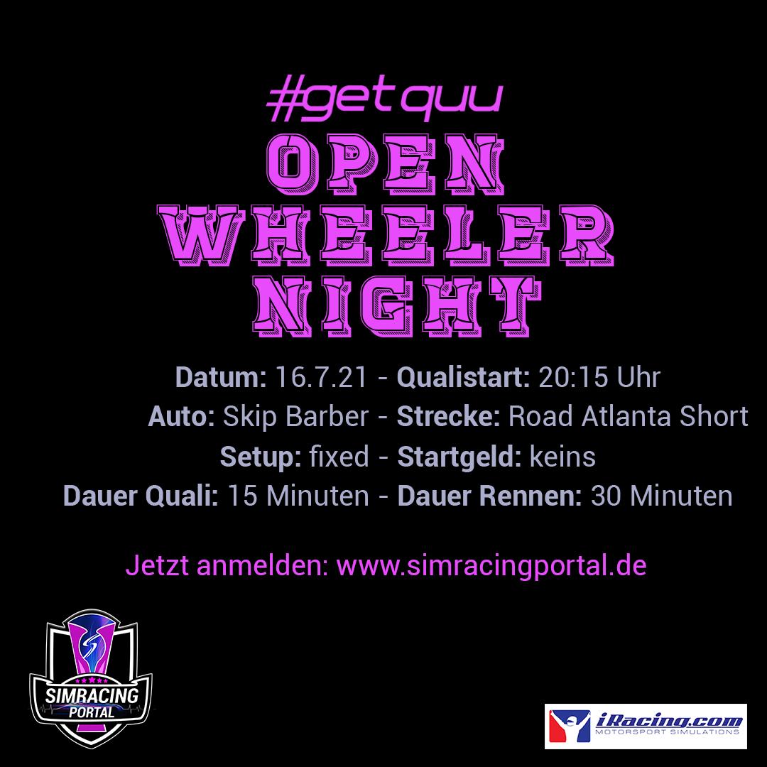 Open Wheeler Night