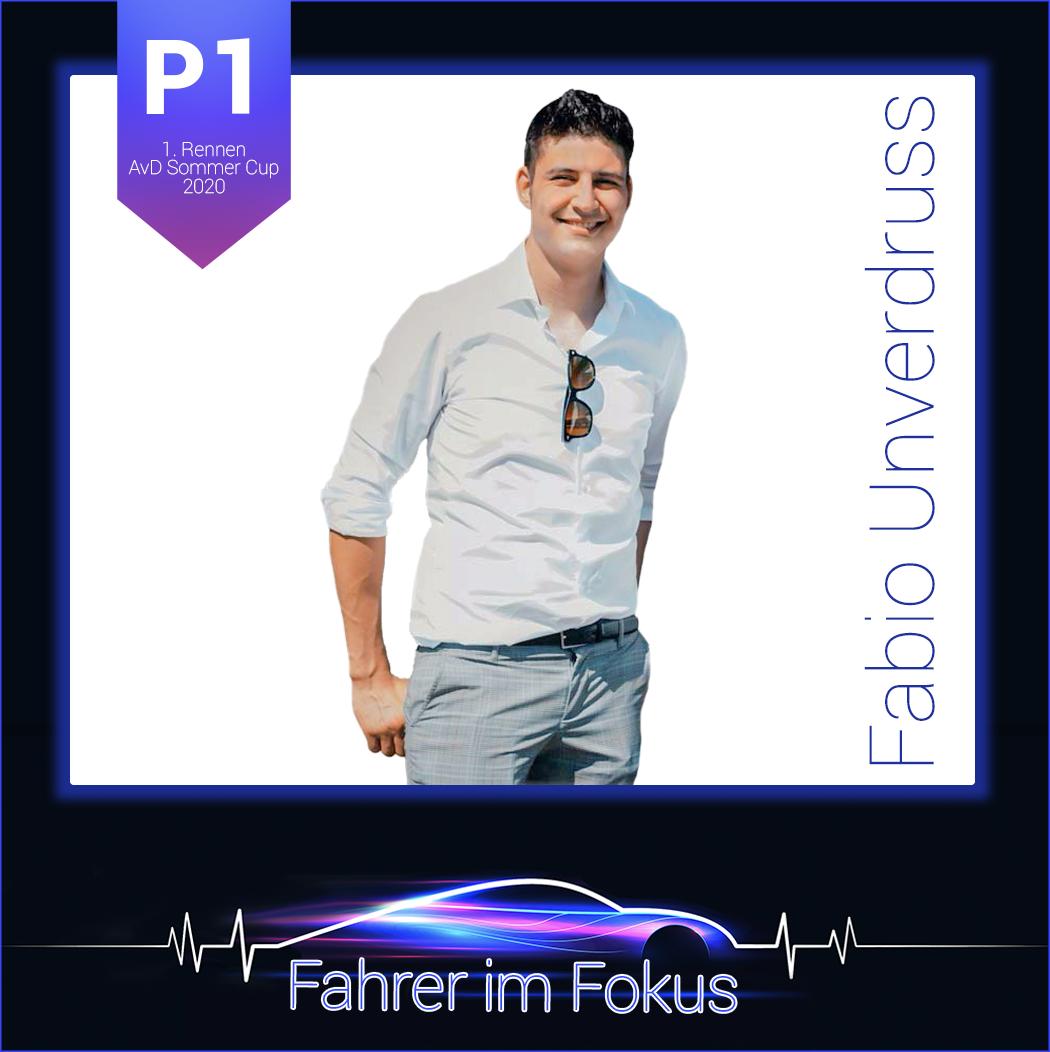 Fabio Unverdruss - Fahrer im Fokus