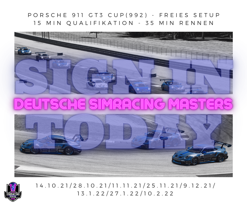 Deutsche Simracing Masters Rennen 6