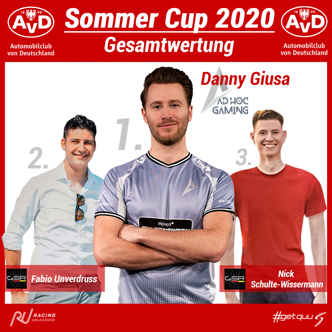 Der erste AvD Sommer Cup ist beendet