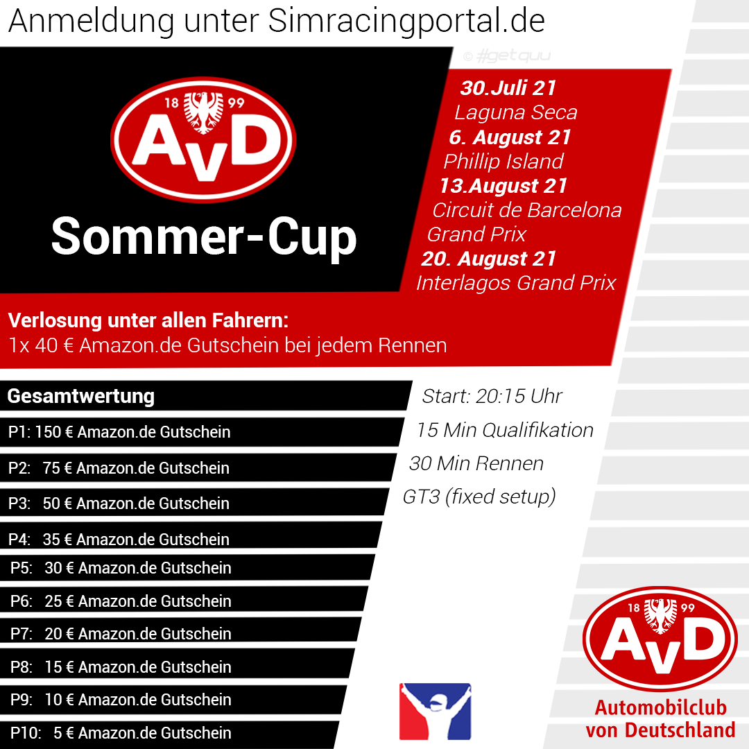 AvD Sommer Cup S2 Rennen 1