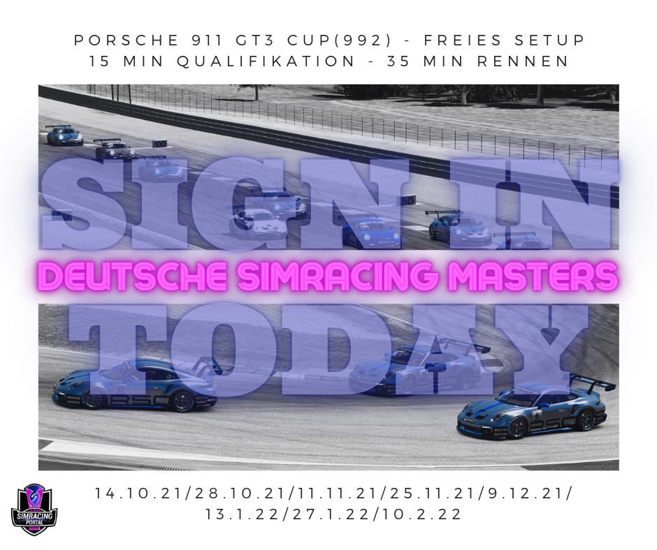 Deutsche Simracing Masters Rennen 1