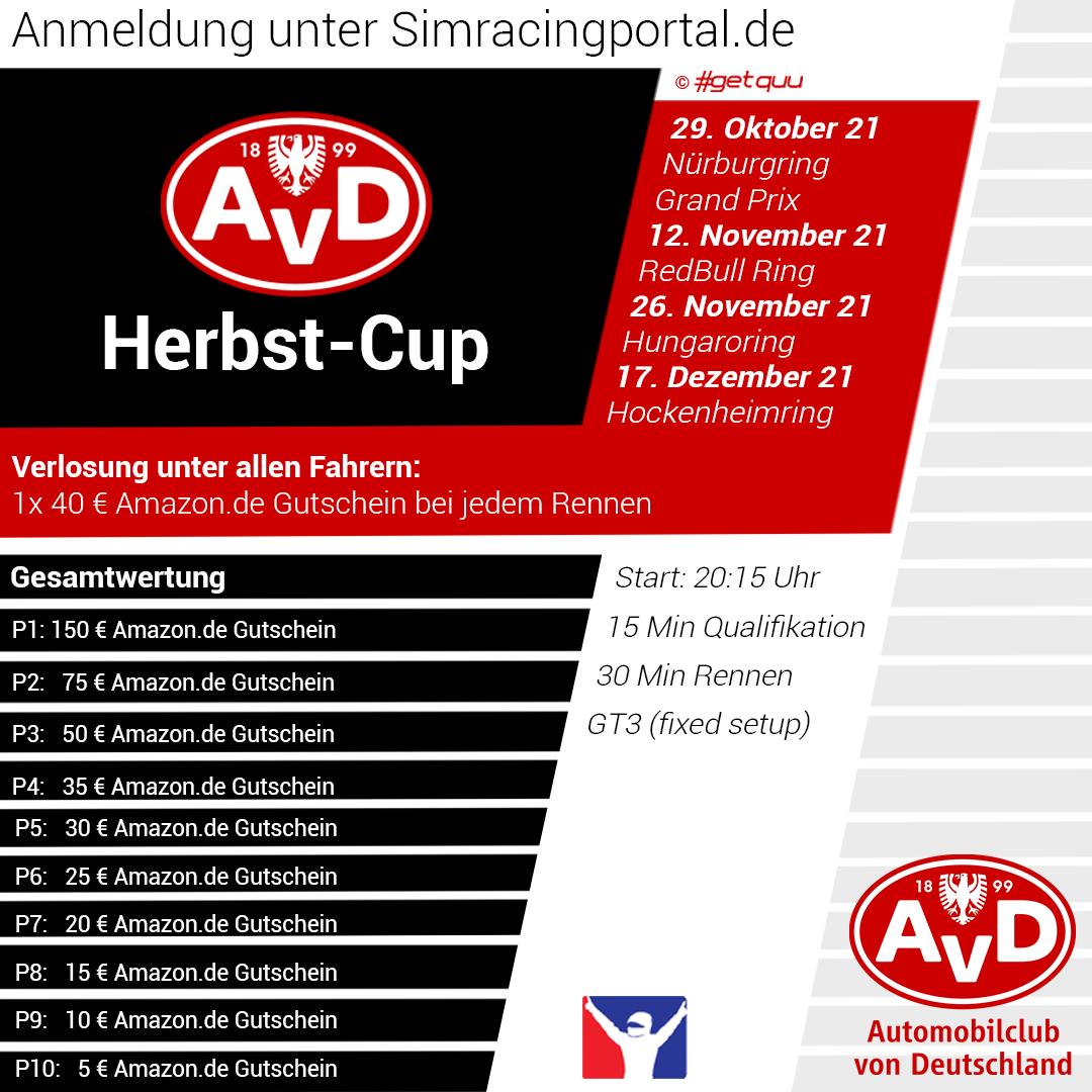 AvD Herbst-Cup S2 Rennen 1