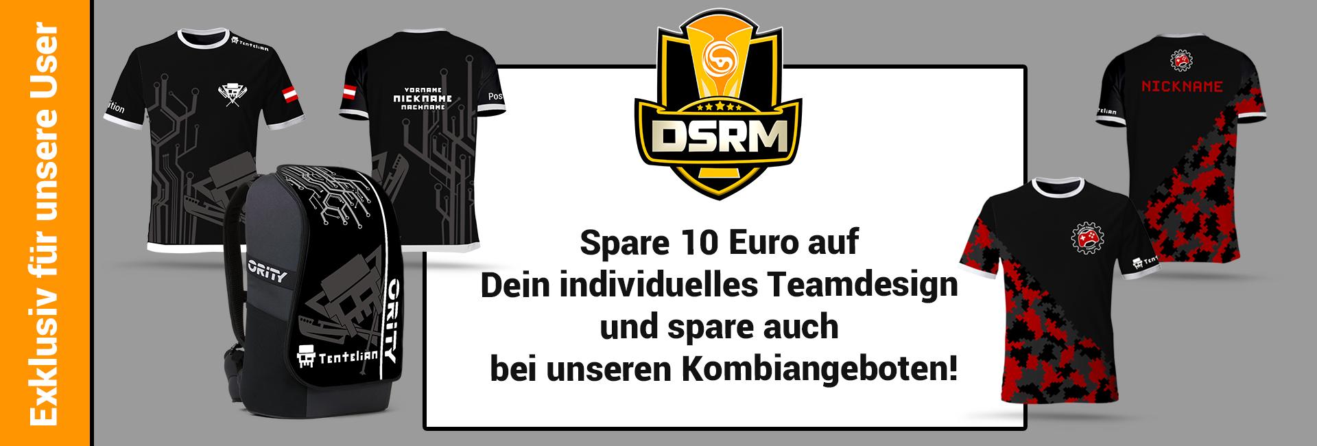 Exklusive Angobte für alle DSRM User