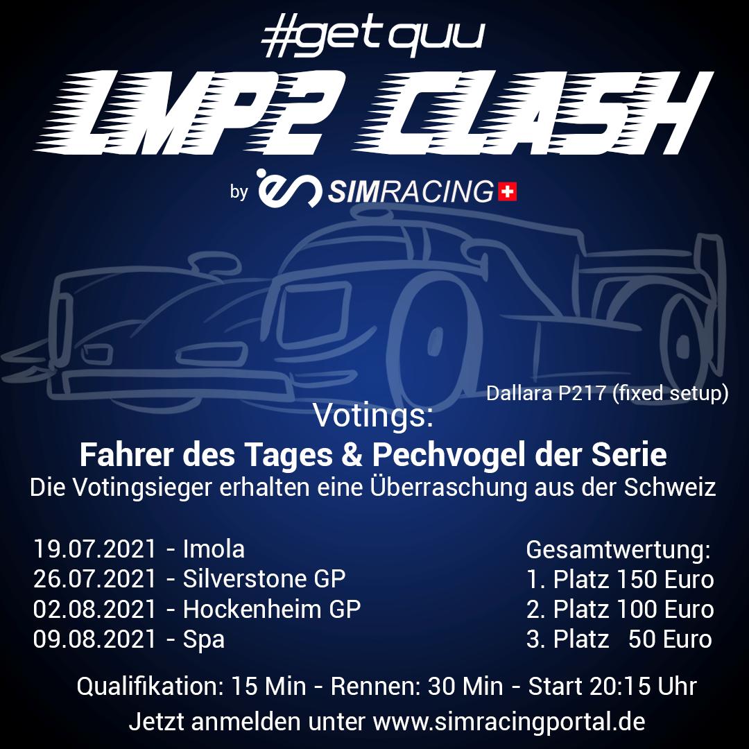 LMP2 CLASH Rennen 3