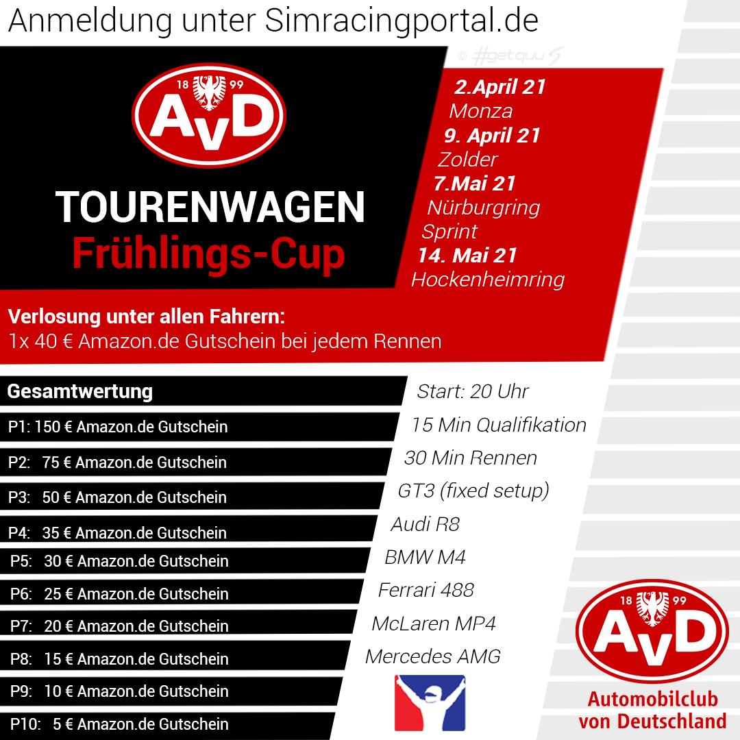 AvD Tourenwagen Frühlings-Cup Rennen 1