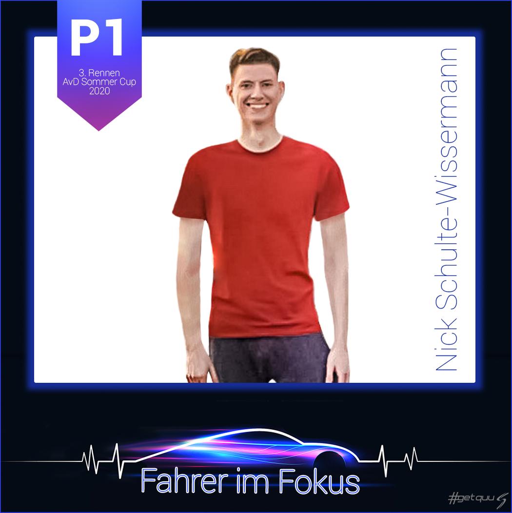 Nick Schulte-Wissermann - Fahrer im Fokus