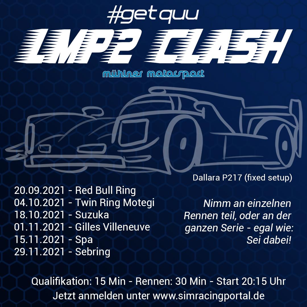 LMP2 CLASH S2 Rennen 1