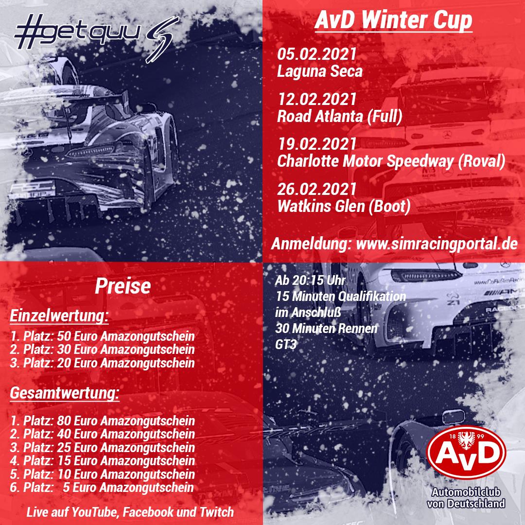AvD Winter Cup Rennen 1